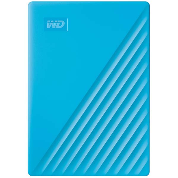 Фото - Внешний HDD WD 4Tb (WDBPKJ0040BBL-WESN) Blue внешний hdd wd elements portable 1tb black wdbuzg0010bbk wesn
