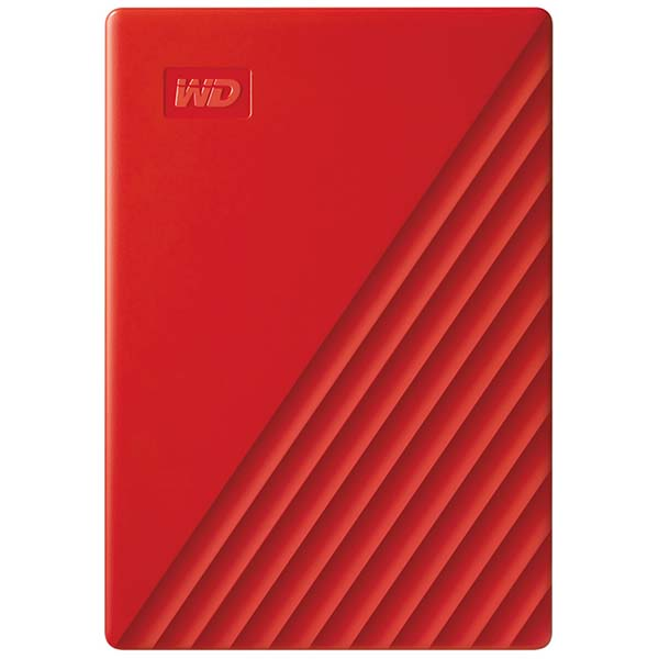 Внешний HDD WD My Passport 4Tb Red (WDBPKJ0040BRD-WESN) жесткий диск wd original usb 3 0 4tb wdbpkj0040brd wesn my passport 2 5 красный