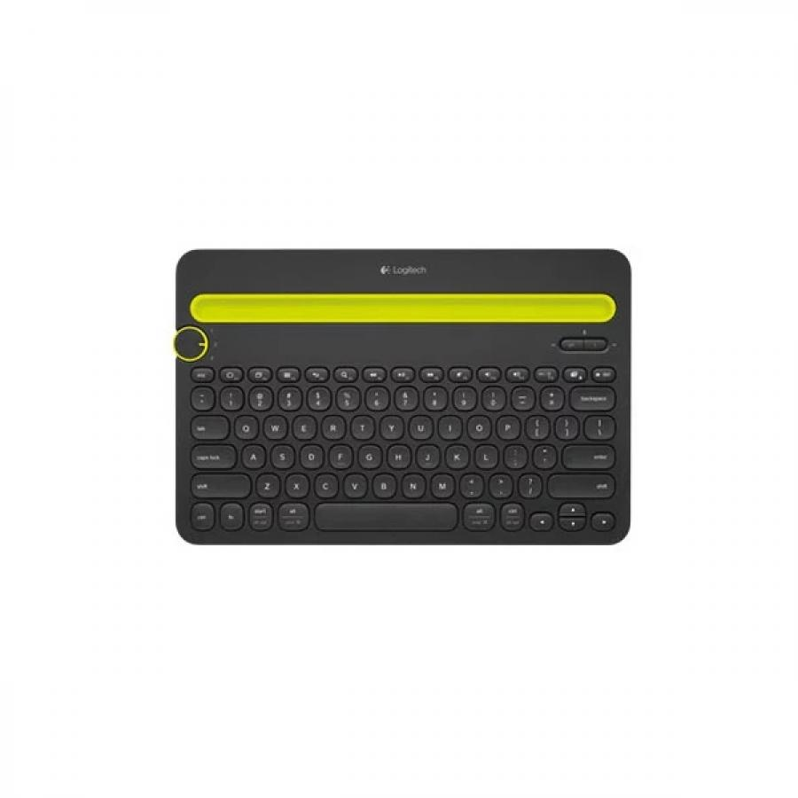 Купить Клавиатура Logitech Multi-Device Keyboard K480 Black Bluetooth