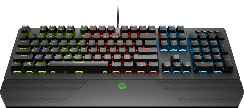 Клавиатура HP Pavilion Gaming 800 черный аккумулятор для ноутбука topon top la044 hp pavilion sleekbook 14 15 chromebook 14 series 14 4v 4400mah 63wh