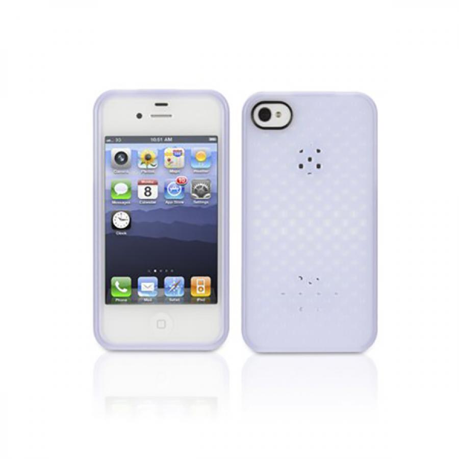 Чехол для Apple iPhone 4/4S Griffin iClear Air (GB03167) Lavender