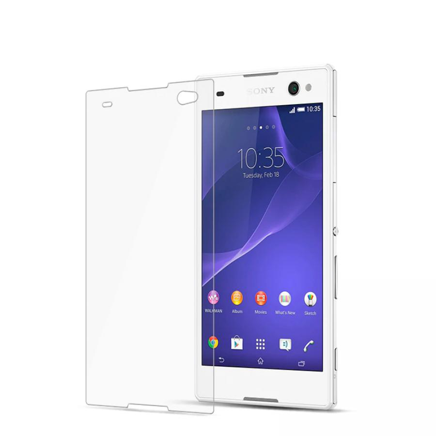 Защитный экран для телефона Sony Xperia C3/C3 Dual tempered glass стоимость
