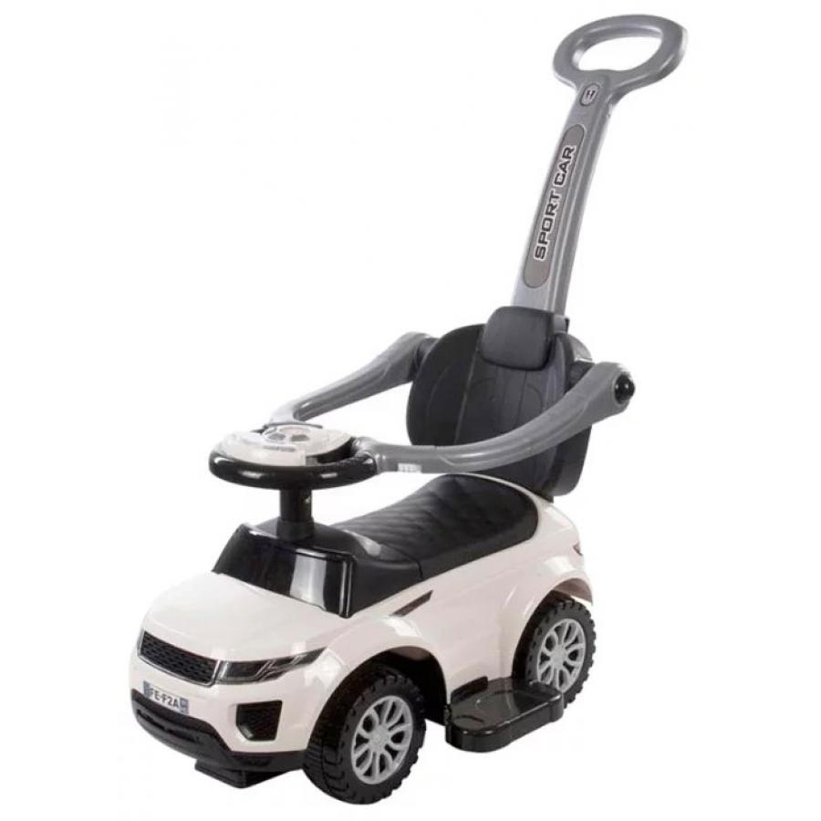 Каталка детская Baby Care Sport car Белый (White) каталка baby care cute car blue