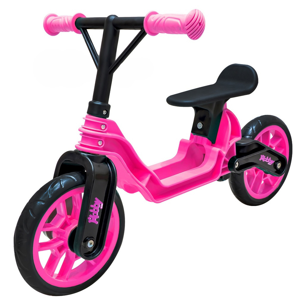 Беговел RT Hobby bike Magestic pink black