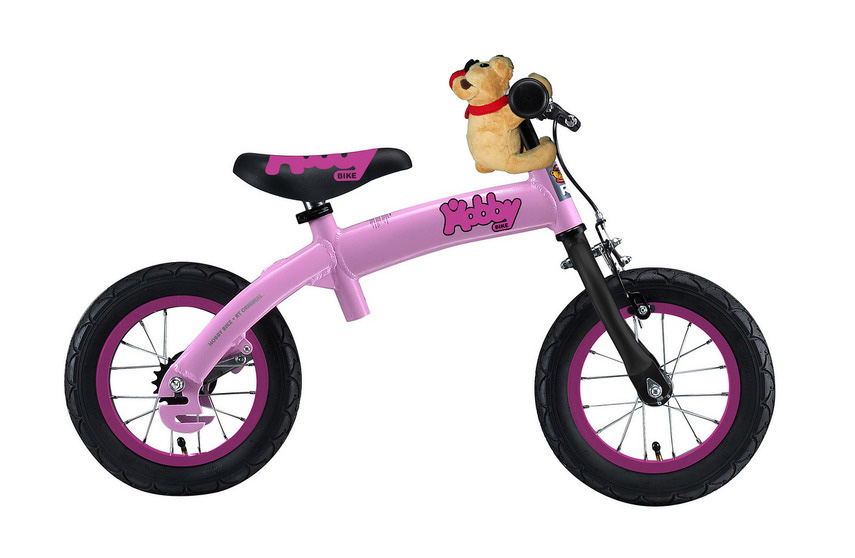 Беговел Hobby-bike RToriginal ALU NEW 2016 pink велосипед strida 5 2 2016
