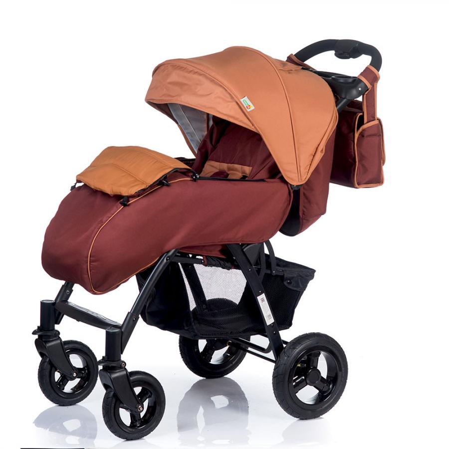 Коляска прогулочная Babyhit TRAVEL AIR коричневый four wheels stroller babyhit travel air kidstravel