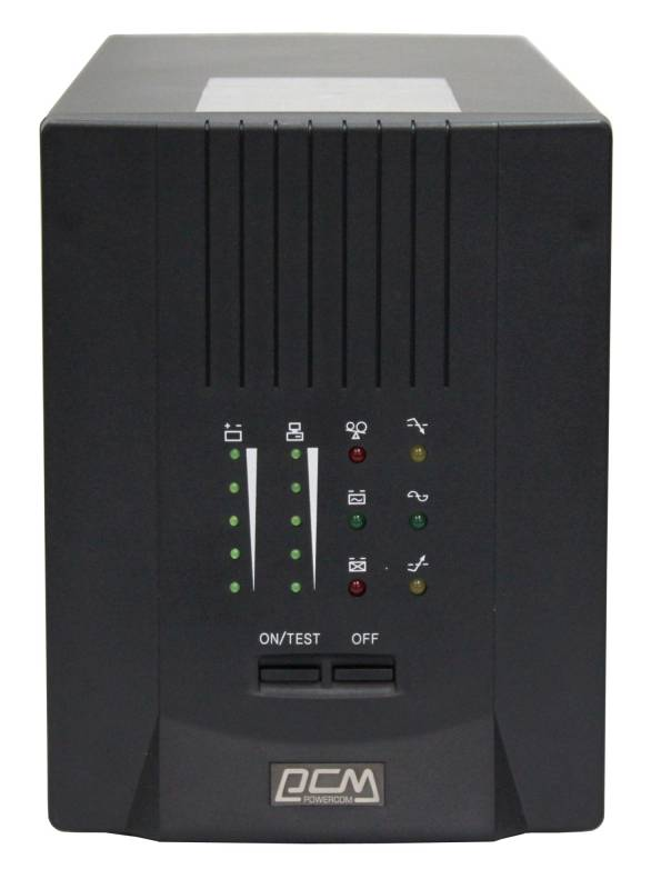 ИБП Powercom Smart King Pro+ SPT-700 черный uninterruptible power supply powercom smart king pro spt 500 home improvement electrical equipment