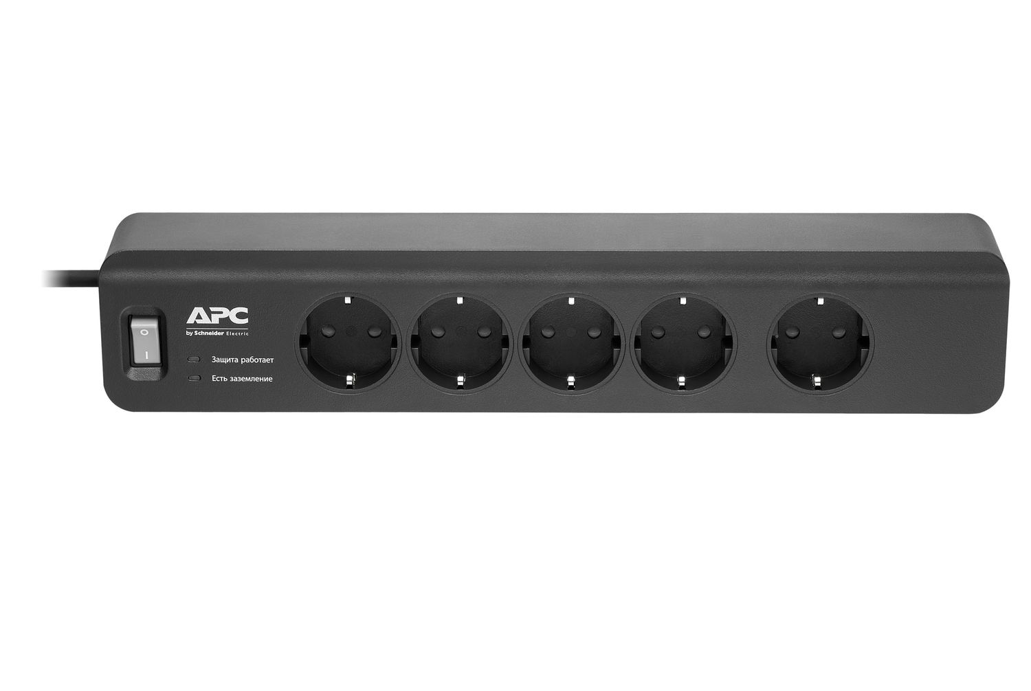 Сетевой фильтр APC Essential SurgeArrest 5 outlets 230V Russia (PM5B-RS)