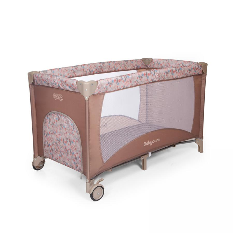 Манеж Baby Care Arena Коричневый манеж hauck baby center birdie grey