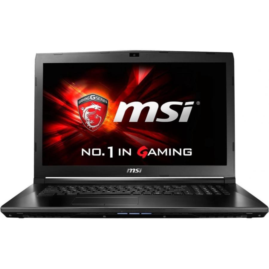Ноутбук MSI GL72M 7RDX-1484XRU (9S7-1799E5-1484) ноутбук msi gl72m 7rdx 1484xru 9s7 1799e5 1484 intel core i7 7700hq 2 8 ghz 8192mb 1000gb 128gb ssd no odd nvidia geforce gtx 1050 2048mb wi fi bluetooth cam 17 3 1920x1080 dos