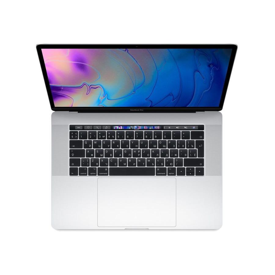 Ноутбук Apple MacBook Pro 15 with Touch Bar 256Gb (MR962RU/A) Silver ноутбук apple macbook pro 13 touch bar core i7 3 5 16 256 ssd s
