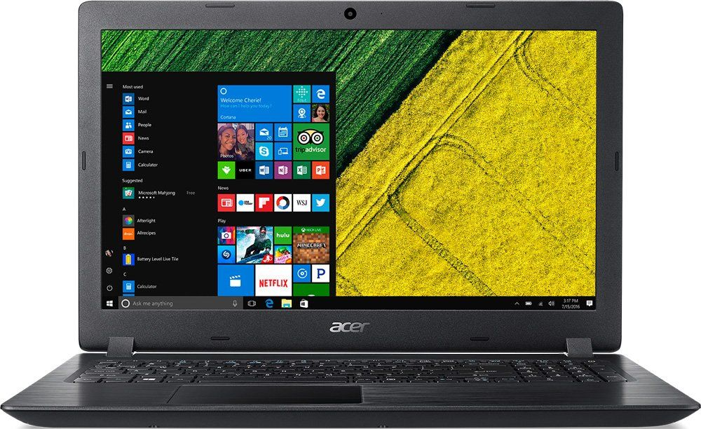 Ноутбук Acer Aspire A315-41G-R3AT Ryzen 7 2700U black NX.GYBER.022 ноутбук