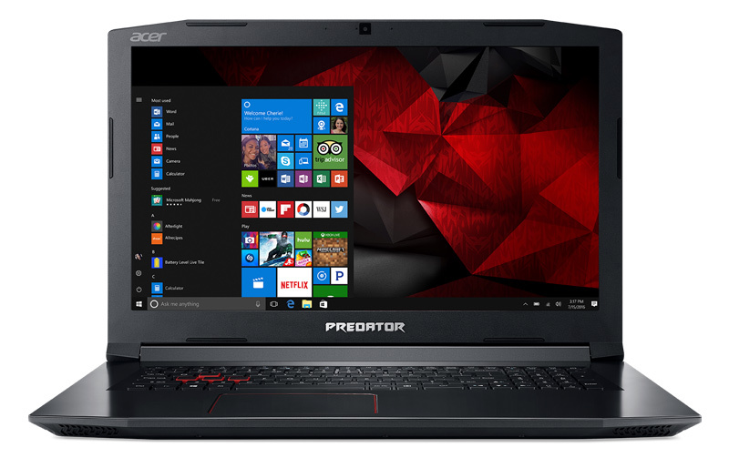Ноутбук Acer Helios 300 PH315-51-79PE Core i7 8750H black NH.Q3HER.012 ноутбук