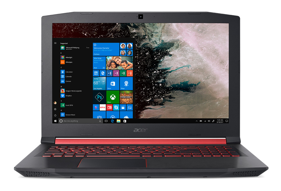 купить Ноутбук Acer Nitro 5 AN515-52-70SL Core i7 8750H black NH.Q3XER.010 дешево