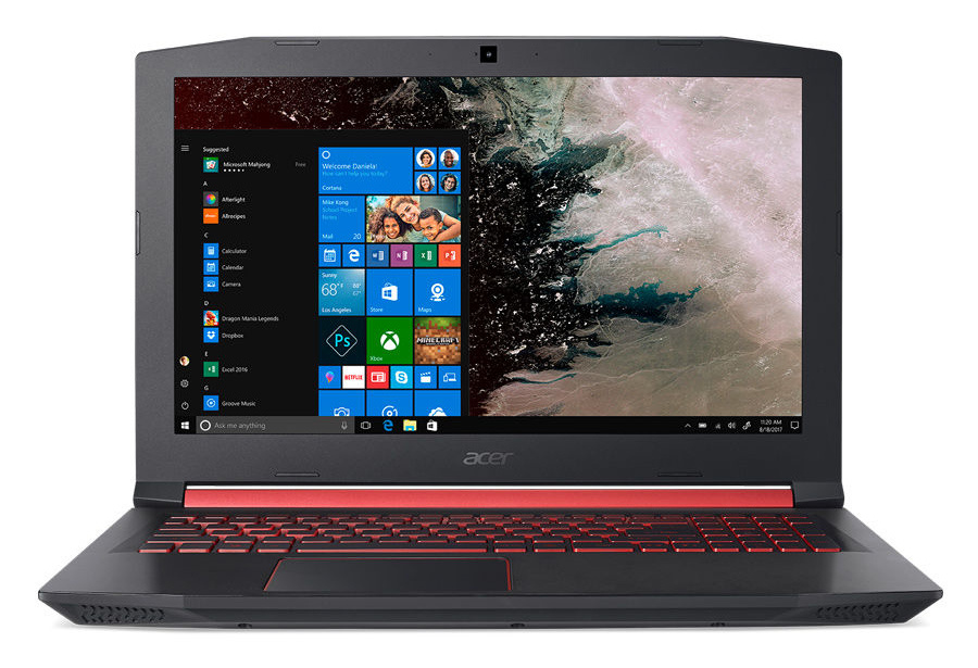 Ноутбук Acer Nitro 5 AN515-52-725H Core i7 8750H black NH.Q3LER.014 цена и фото