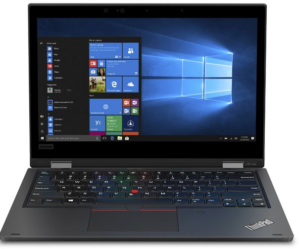 Ноутбук Lenovo ThinkPad L390 Yoga Core i5 8265U black (20NT0016RT) ноутбук lenovo thinkpad 13