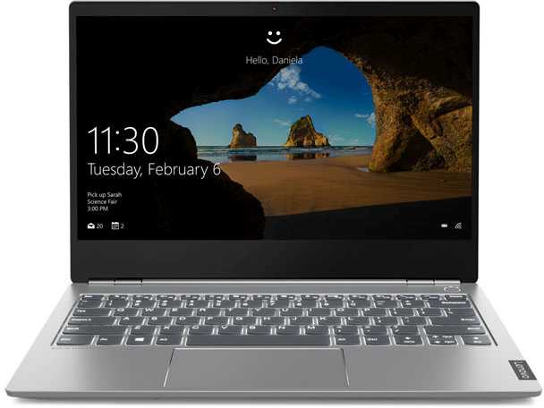 Ноутбук Lenovo Thinkbook 13s Core i5 8265U grey (20R90078RU) ноутбук