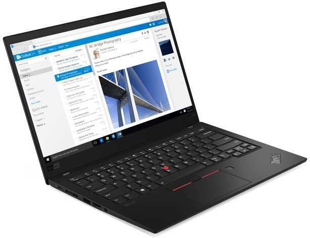 Ноутбук Lenovo ThinkPad X1 Carbon Core i7 8565U black (20QD0037RT) ноутбук