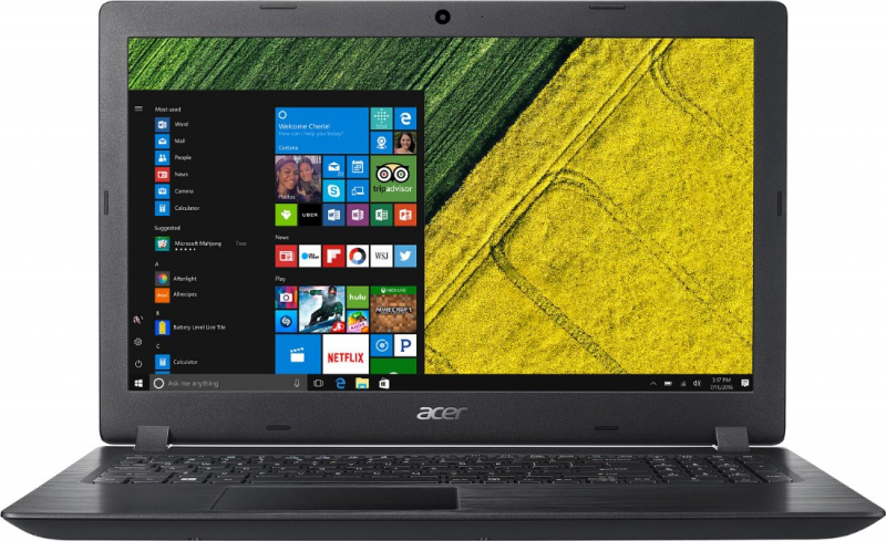 Ноутбук Acer Aspire 15.6 HD A315-32-C5U6/s black (NX.GVWER.017) original new hd 4570m hd4570m 512m 216 0728014 graphic card for acer 4710 4720 4920 5920 display video card gpu replacement