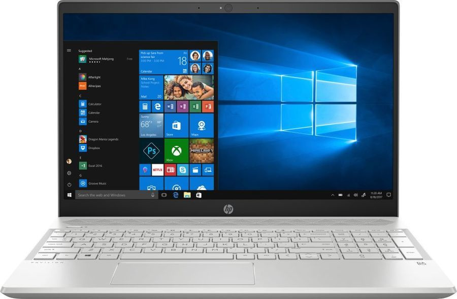 Фото - Ноутбук HP 15-cs2009ur Core i3 8145U silver (6PS00EA) ноутбук hp 15 da0026ur natural silver 4gk48ea