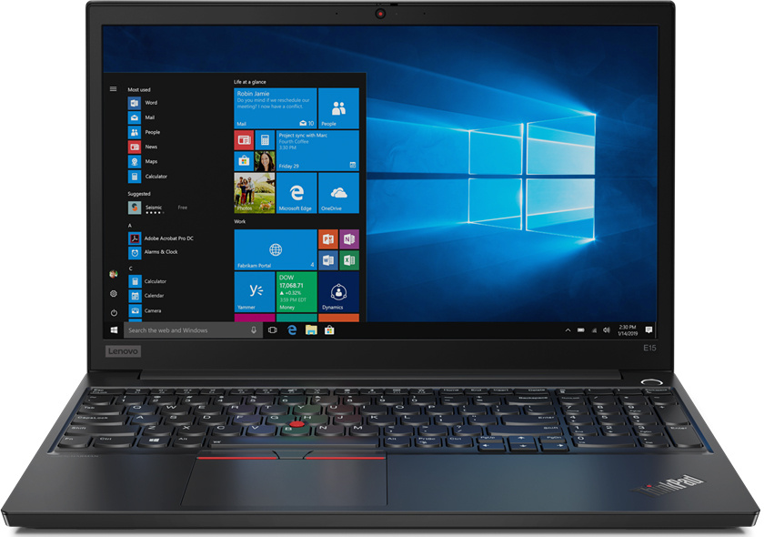 Ноутбук Lenovo ThinkPad E15-IML T (20RD0015RT)