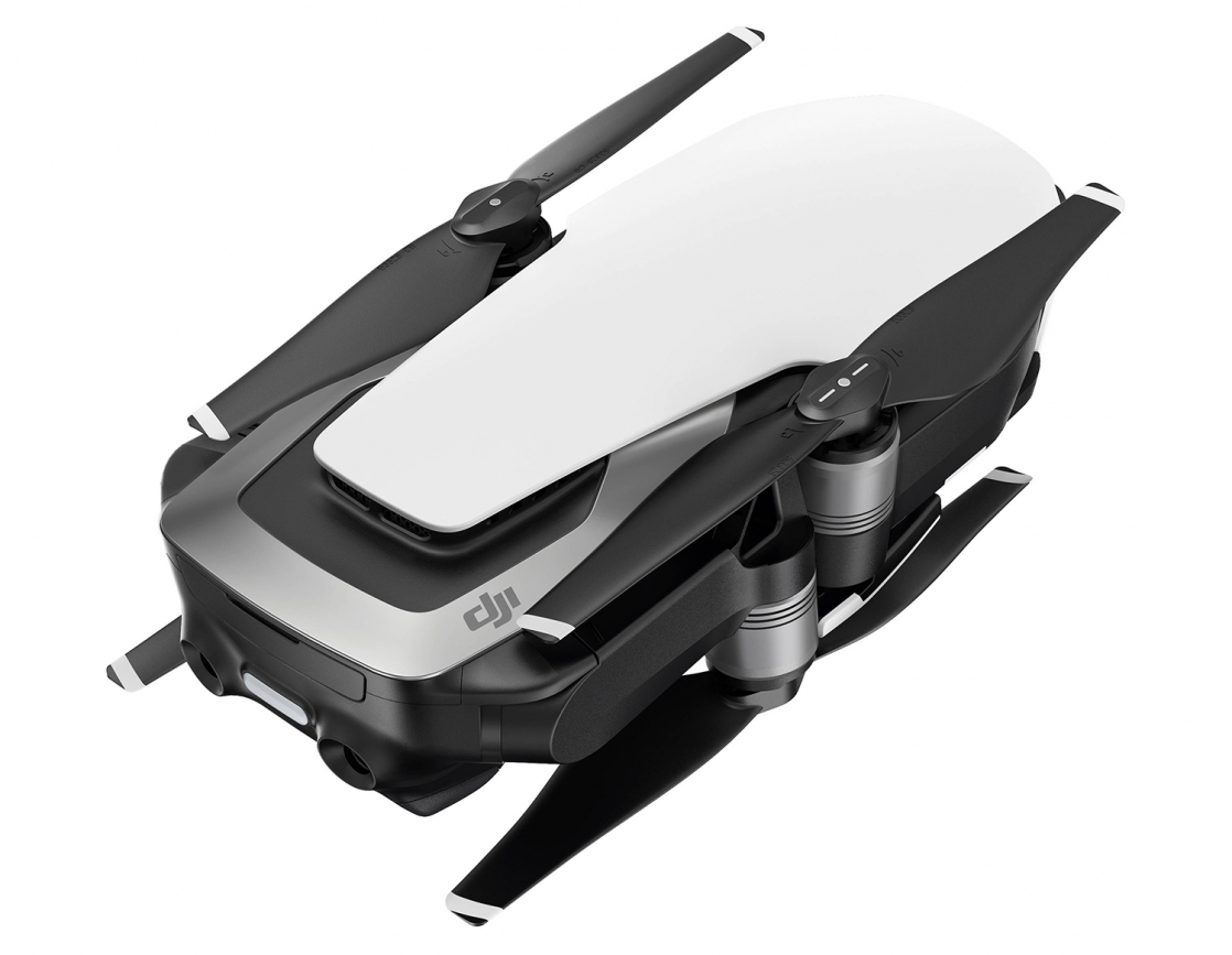 Квадрокоптер DJI MAVIC AIR Arctic White квадрокоптер dji mavic air с камерой черный