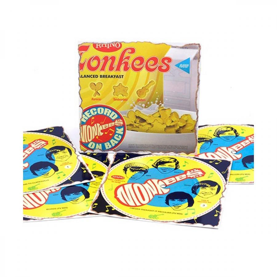 Фото - Виниловая пластинка Monkees, Cereal Box Singles (Box Set) wooden animal pattern hand cranked jewelry music box