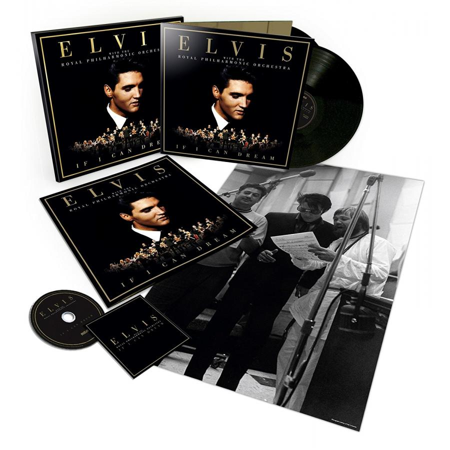 Виниловая пластинка Presley, Elvis / Royal Philharmonic Orchestra, The, If I Can Dream виниловая пластинка pogues the if i should fall from grace with god rum sodomy and the lash box set
