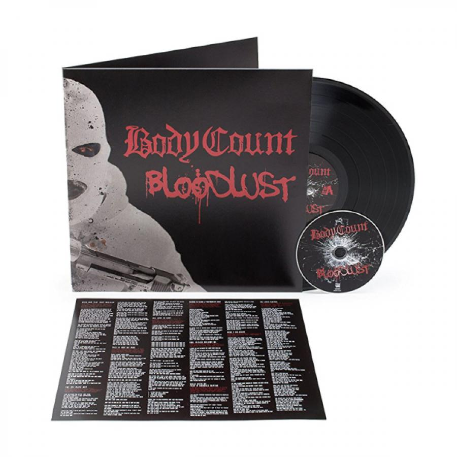 цена на Виниловая пластинка Body Count, Bloodlust (LP, CD)