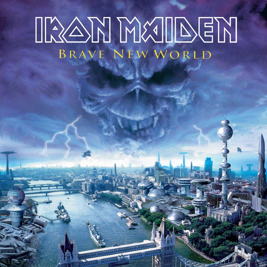 Виниловая пластинка Iron Maiden, Brave New World iron maiden iron maiden running free live