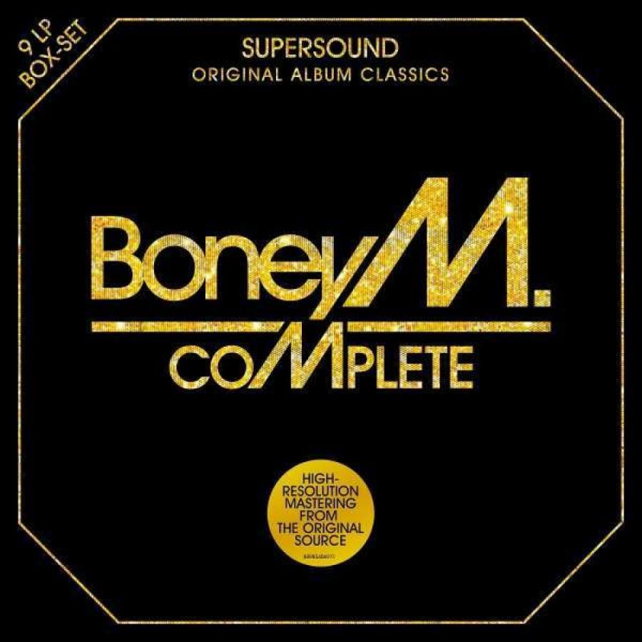 Виниловая пластинка Boney M., Complete - Original Album Collection (Box Set) цена