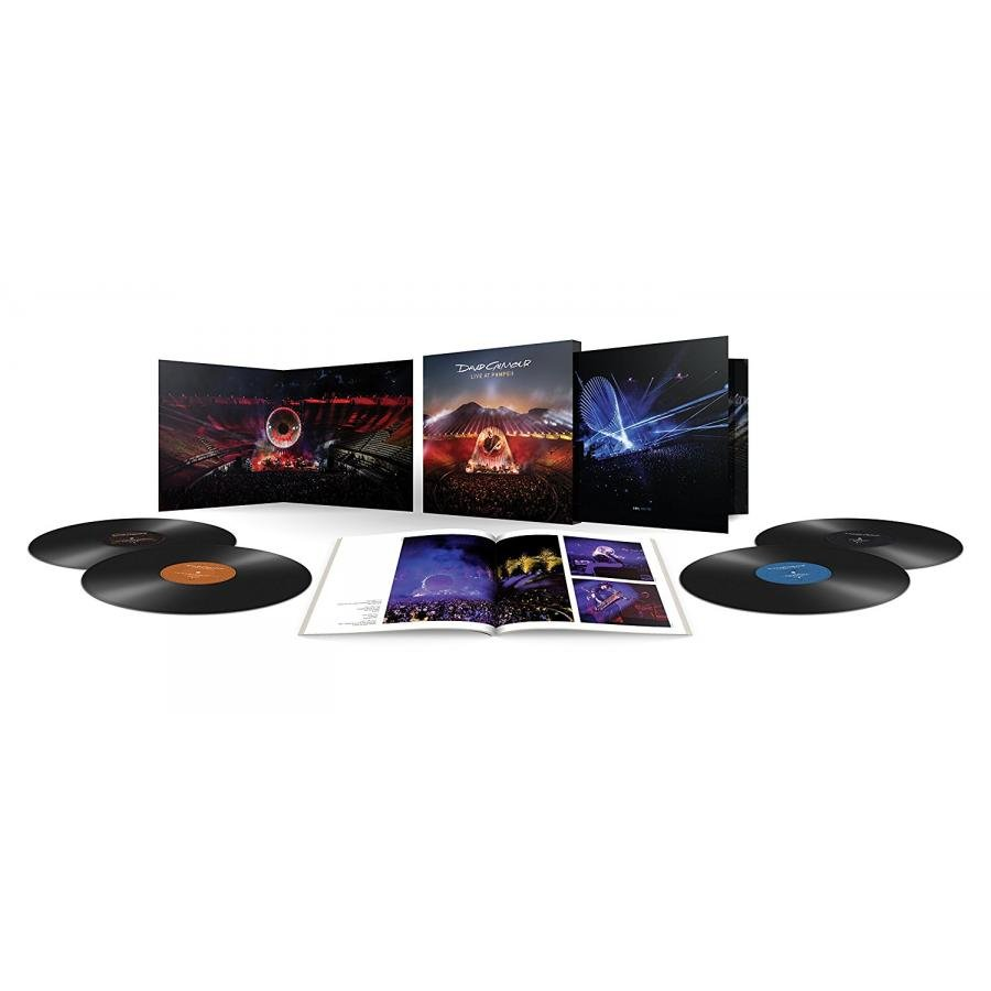 Виниловая пластинка Gilmour, David, Live At Pompeii (Box Set) blu ray cd david gilmour live at pompeii