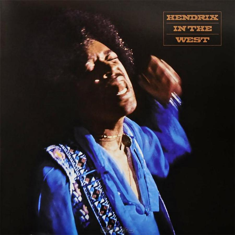 Виниловая пластинка Hendrix, Jimi, Hendrix In The West плектр dunlop jimi hendrix 12 medium