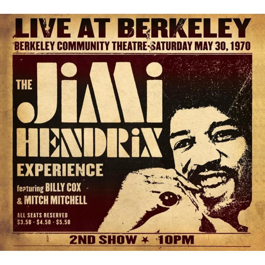 Виниловая пластинка Hendrix, Jimi, Live At Berkeley плектр dunlop jimi hendrix 12 medium