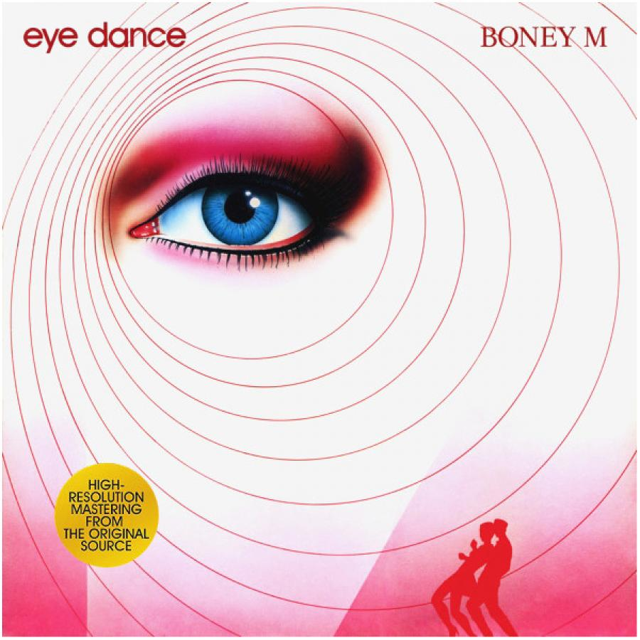 Виниловая пластинка Boney M., Eye Dance air pressure infrared eye massager vibration music magnetic heating eye massage eye care