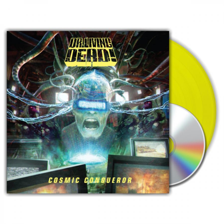Виниловая пластинка Dr. Living Dead!, Cosmic Conqueror (LP, CD)