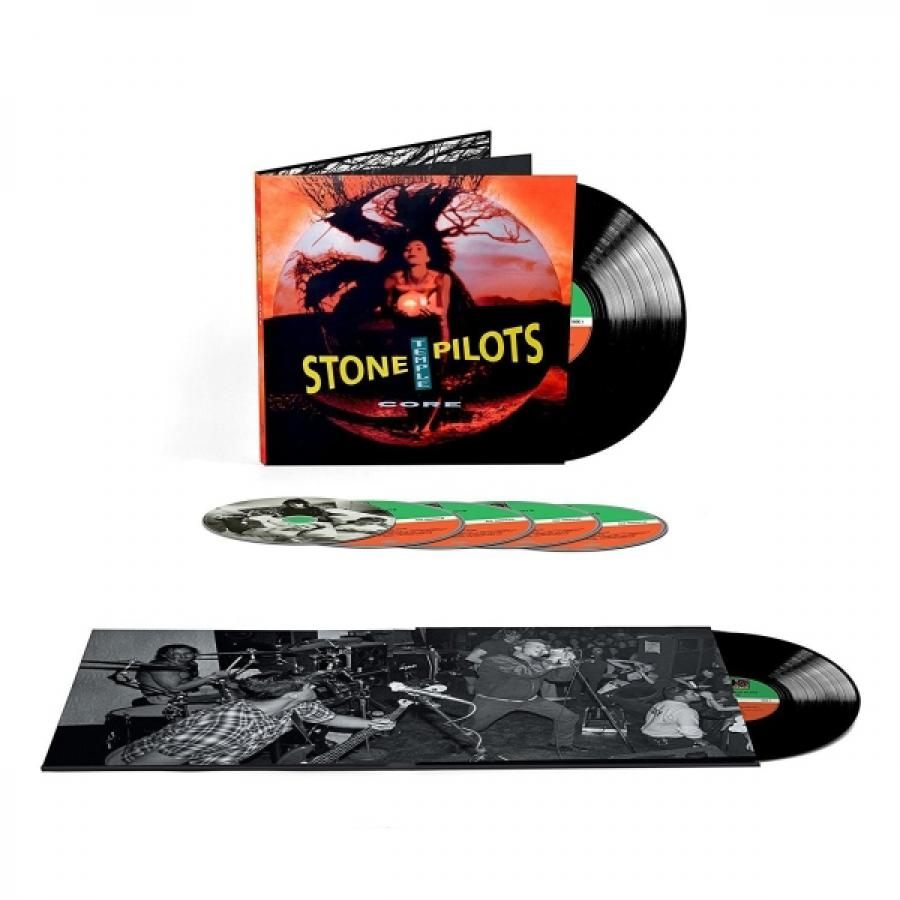 Виниловая пластинка Stone Temple Pilots, Core (25Th Anniversary) (LP, 4CD, DVD, Deluxe Box Set) batman arkham asylum 25th anniversary deluxe edition