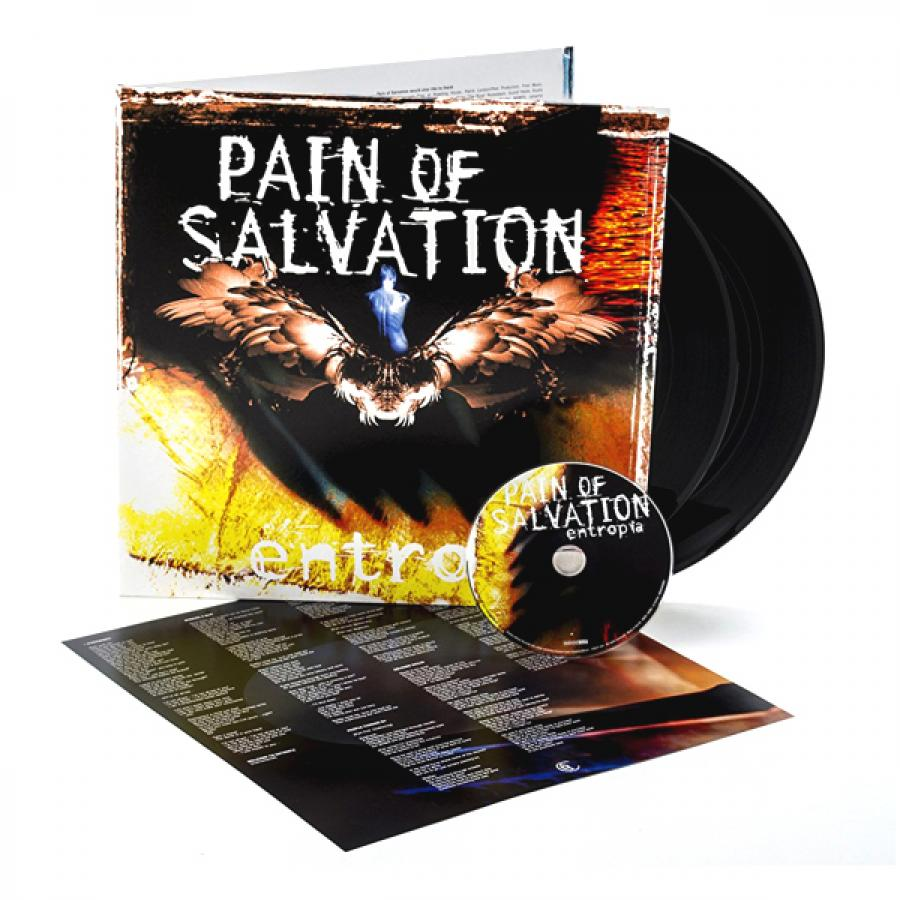Виниловая пластинка Pain Of Salvation, Entropia (2LP, CD) виниловая пластинка pain of salvation one hour by the concrete lake 2lp cd
