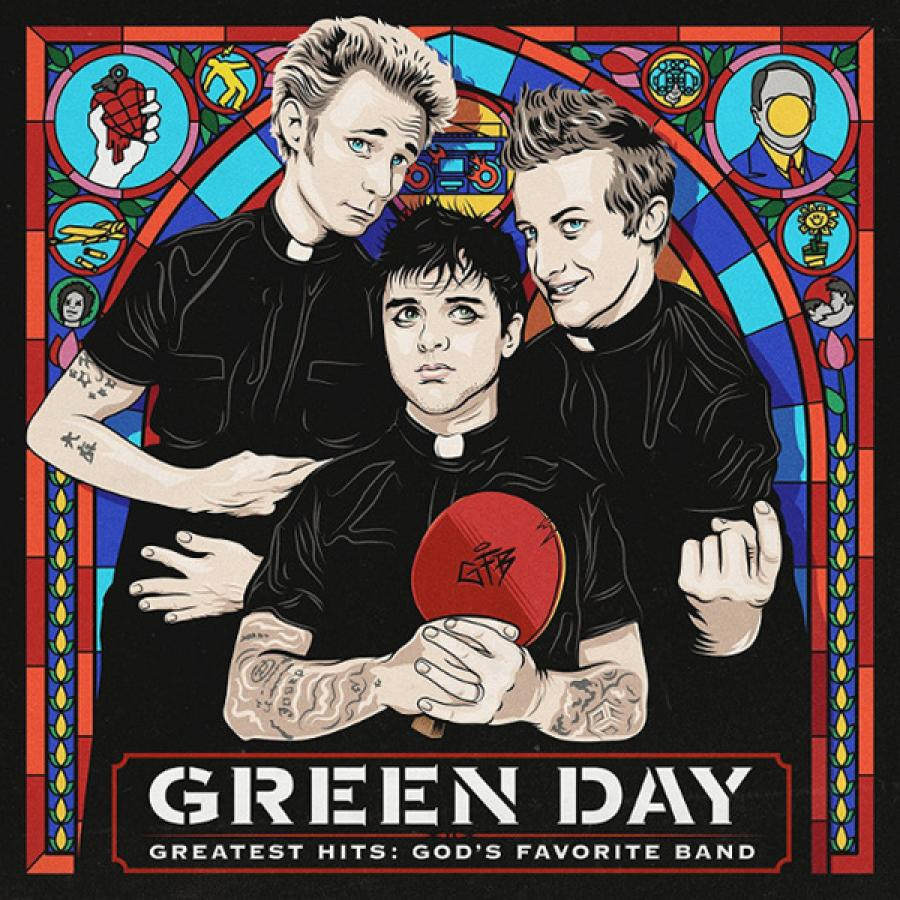 Виниловая пластинка Green Day, Greatest Hits: GodS Favorite Band eagles their greatest hits 1971 1975 виниловая пластинка