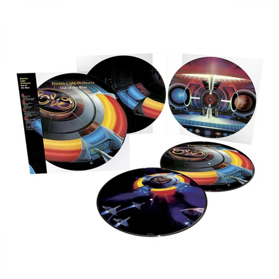 Виниловая пластинка Electric Light Orchestra, Out Of The Blue (40Th Anniversary) электробритва braun 300s red