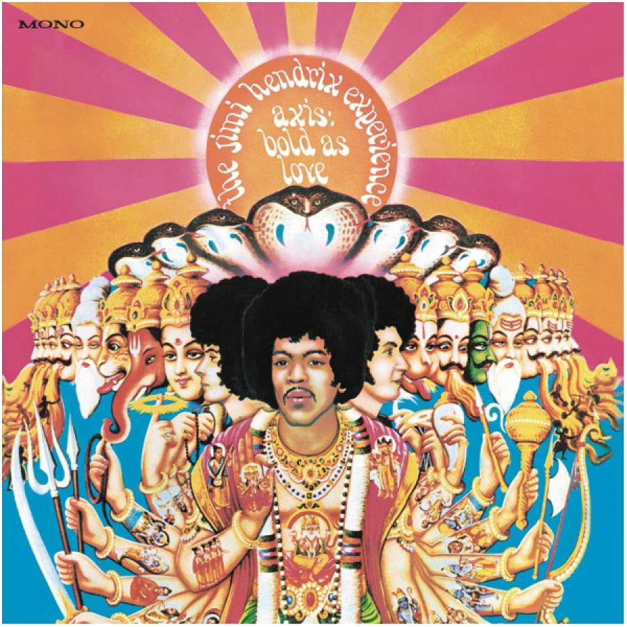 Виниловая пластинка Hendrix, Jimi, Axis: Bold As Love (Mono) плектр dunlop jimi hendrix 12 medium