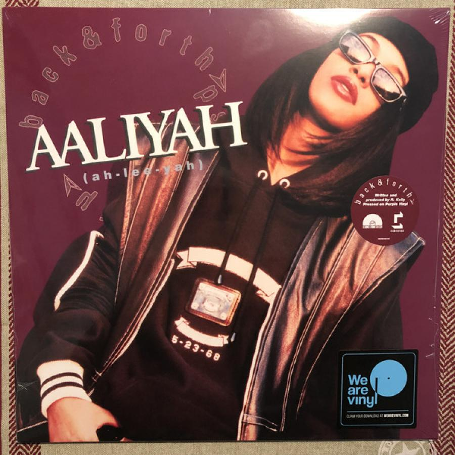 Виниловая пластинка Aaliyah, Back and Forth Ep (Limited) виниловая пластинка tha jayhawks back roads and abandoned motels