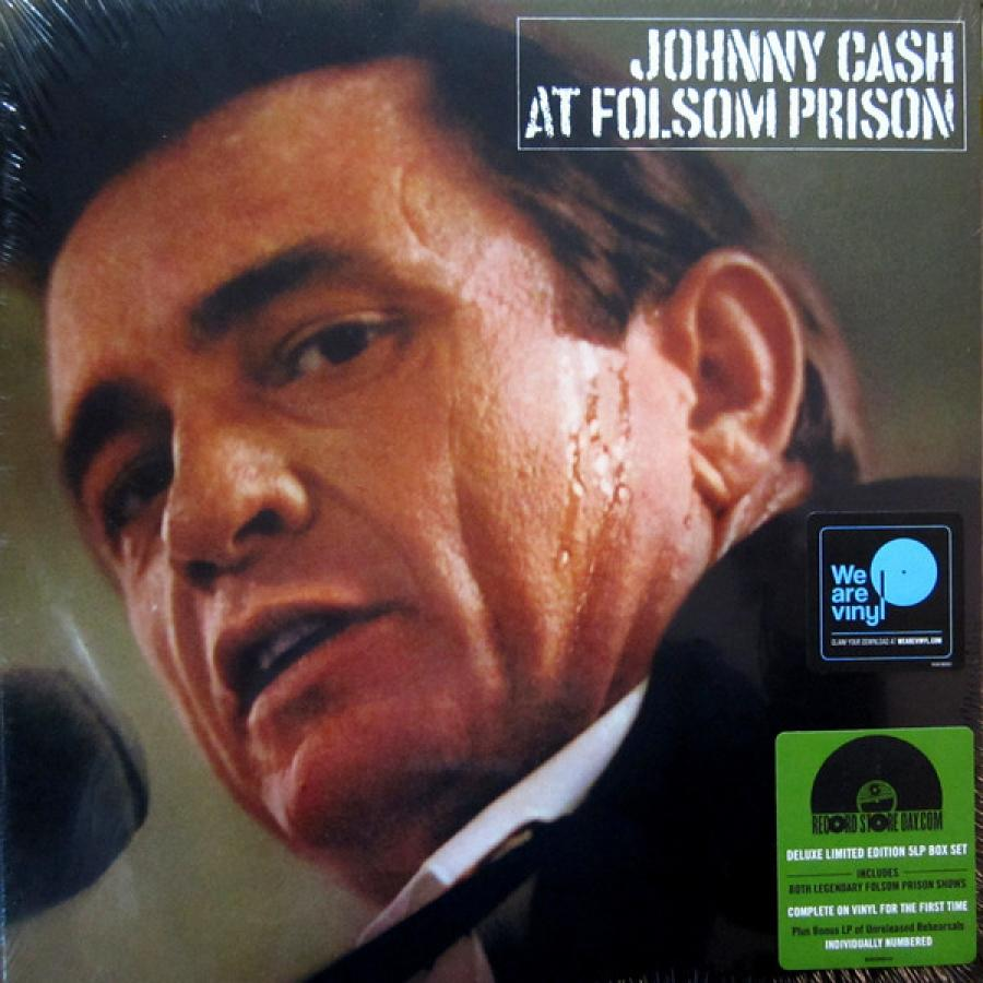 Виниловая пластинка Cash, Johnny, At Folsom Prison (Legacy Edition) (50Th Anniversary) (Limited Box Set) нож складной para™ 3 satin finish crucible cpm® s30v™ blade black g 10 handle