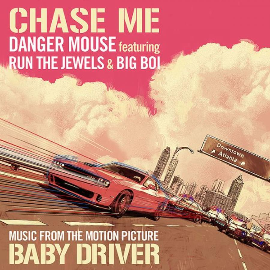 Виниловая пластинка Danger Mouse Featuring Run The Jewels and Big Boi, Chase Me