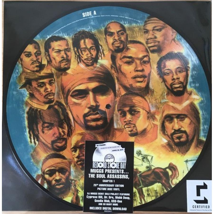 Виниловая пластинка Dj Muggs, The Soul Assassins Chapter 1 dj muggs dj muggs the soul assassins chapter 1 picture disc