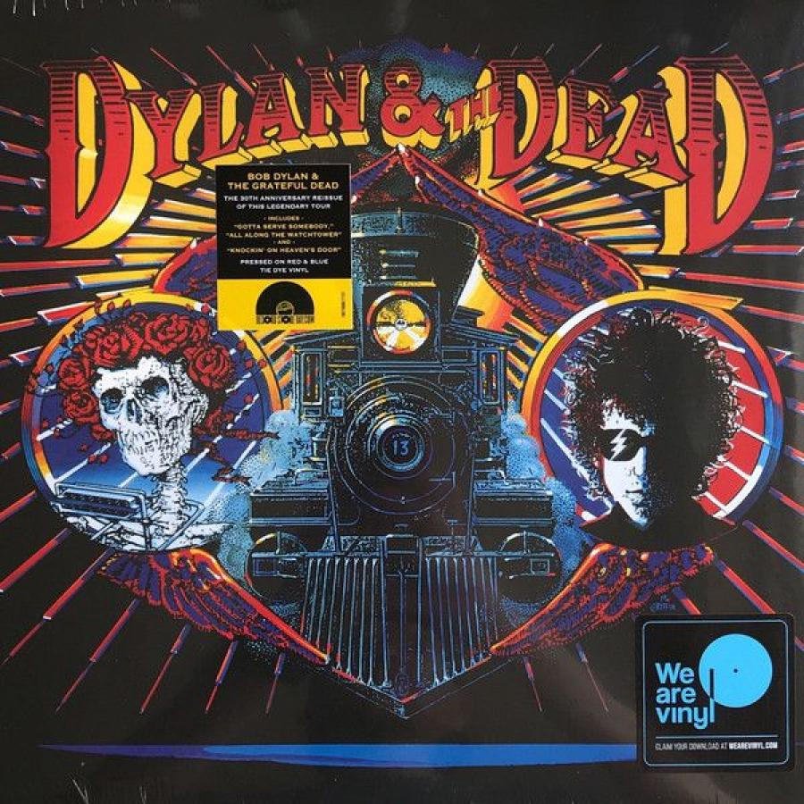Виниловая пластинка Dylan, Bob / Grateful Dead, The, Dylan and The Dead (Limited) виниловая пластинка hedwig and the angry inch hedwig and the angry inch broadway cast recording