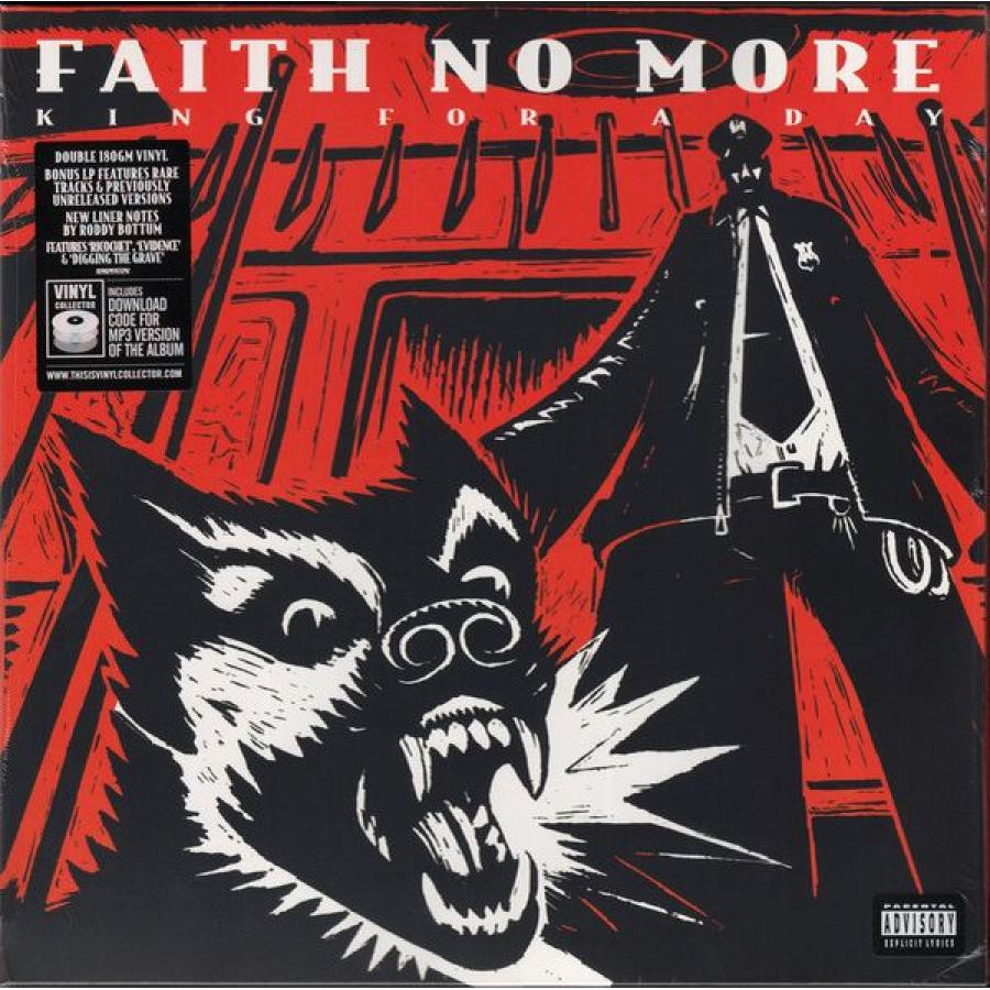 Виниловая пластинка Faith No More, King For  Day... Fool   Lifetime