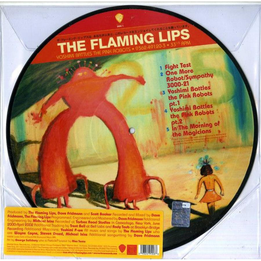 Виниловая пластинка Flaming Lips, The, Yoshimi Battles The Pink Robots (Limited) виниловая пластинка flaming lips the heady nuggs 20 years after clouds taste metallic 1994 1997