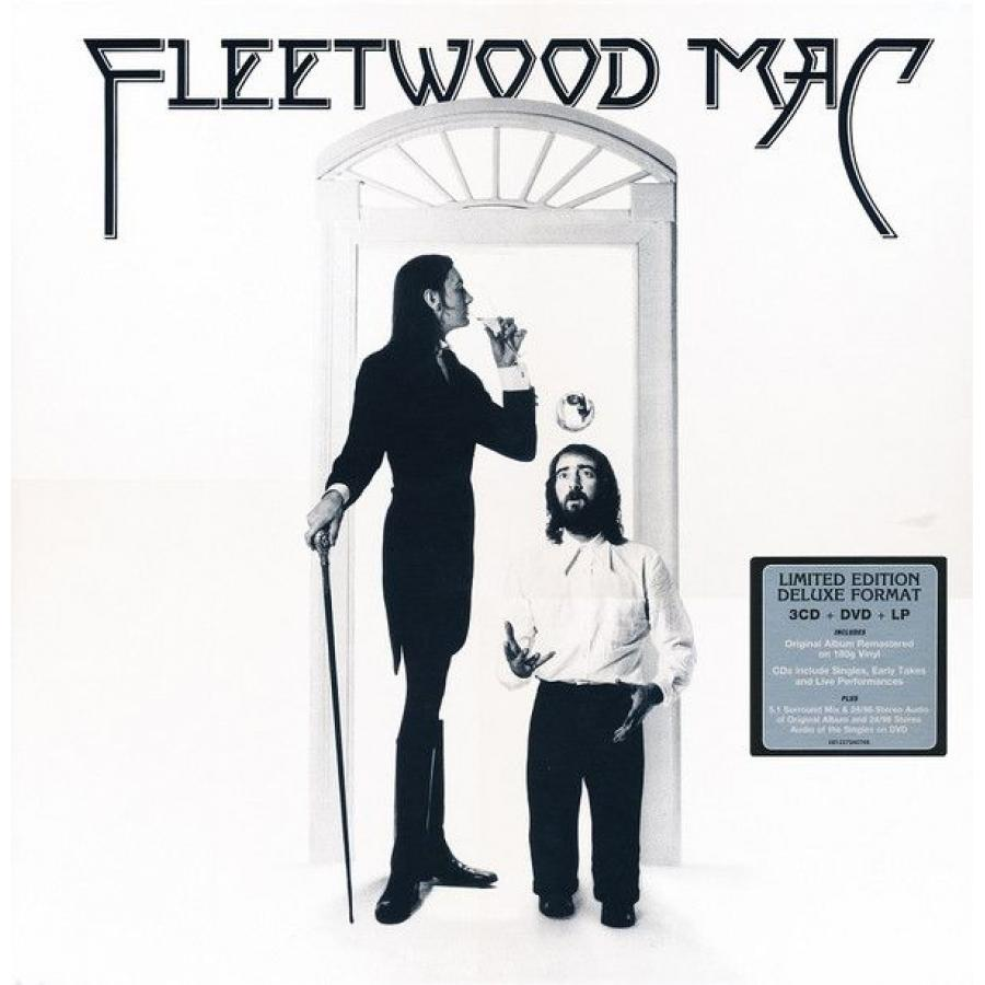 Виниловая пластинка Fleetwood Mac, Fleetwood Mac (LP, 3CD, DVD, Box Set) виниловая пластинка led zeppelin how the west was won 4lp 3cd dvd deluxe box set