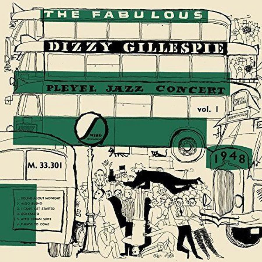 Виниловая пластинка Gillespie, Dizzy, Pleyel Jazz Concert 1948 виниловая пластинка art tatum ben webster art tatumfrom gene norman's just jazz